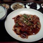 韓一館 - 手長タコ炒め