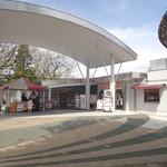 長良川サービスエリア(下り線) フードコートコーナー - 外観
