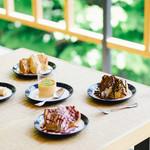 Gardens Pasta Cafe ONS - ふわふわシフォンケーキ