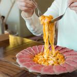 Gardens Pasta Cafe ONS - 自家製フィットチーネはもちもち