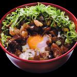 長田タンク筋 - 牛スジぼっかけ丼
