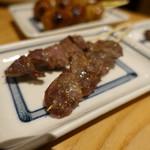 とりとり亭 - 砂肝串(130円/本)