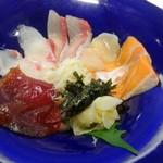 肥後橋 魚で乾杯 うず潮 - 海鮮丼