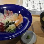 肥後橋 魚で乾杯 うず潮 - 海鮮丼ランチ