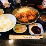 とんかつ三太 - 一口カツ定食(1,100円)
