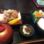 松や酒店 - 鶏の竜田揚げ