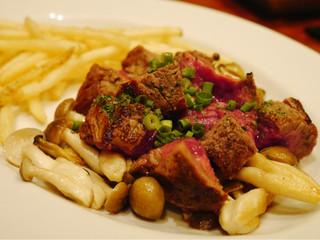 渋谷個室イタリアンダイニング アジト リュクス - 和牛フィレ肉のダイスカットステーキ