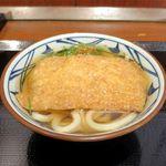丸亀製麺 - きつねうどん並(420円)