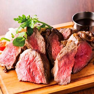 若姫牛のホルモンフリー&未経産メス牛100%使用のステーキ