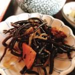 キッチン食堂 城山 - ひじき煮