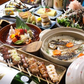 【平日限定】料理6品+2h飲み放付「宴コース」は3,000円
