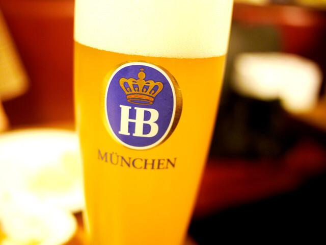 バーデンバーデン - ヴァイスビールが大のお気に入りです