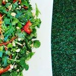 Organic Restaurant sizen - 無農薬パクチーサラダ
