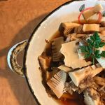 Organic Restaurant sizen - シェフ手掘り筍の土佐煮