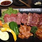 炭火焼肉 寿月 - 寿セット