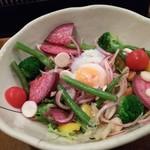 83986999 - 地野菜の彩りサラダ