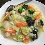 津香飯店 - 海鮮八宝菜