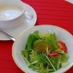 marica - サラダとスープ