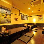 鹿児島酒処 ふるさと - 33名の掘りごたつ個室・同窓会・歓送迎会で使えます。10名のテーブル席個室もあります