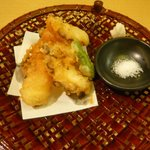 すし・海鮮玉寿司 - たこの天ぷら