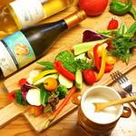 産直野菜のバーニャカウダー
