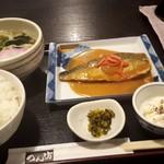 Membou - 鯖の味噌煮定食820円