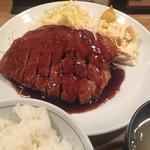 大阪トンテキ - トンテキ定食¥820
