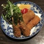 Tokkuri - 太いアスパラのフライ