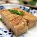 小石川 かとう - 豆腐のもろ味噌