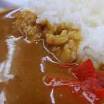 そば処 大橋や - カレーライスセット・きしめん(530円)