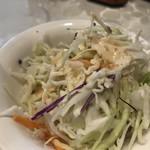 川菜館 - ランチサラダ