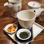 おちゃらか - やぶきた茶(¥600)
