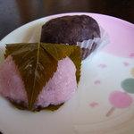 もち吉 - 料理写真:おはぎ・桜餅・だんごあります