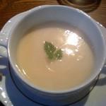 パセオ - JR奈良【PASEO】蕪のスープ