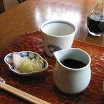 Chikyuuya - 薬味はネギと辛味大根