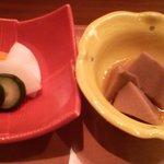 840979 - 笑和真心御膳(お新香と小鉢)