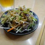 アジア料理・インドカレー ハヌマン - ランチのセットのサラダ