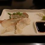 ボンゴレ亭 - ☆名物鯛の昆布〆(#^.^#)☆