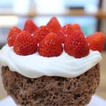 チョコレート研究所 - ストロベリーデコレーション氷☆