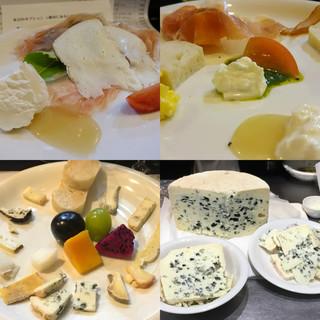 山猫軒 - 料理写真:毎月変わる1年に140種類の季節のチーズ