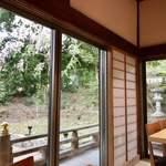 ながら茶房 本寿院 - お席からの眺め