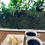 La Collina - 料理写真:焼きたてバームクーヘンセット&バームコーヒー
