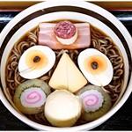 亜呂摩 - アイスコーヒーヌードル 700円 見た目、変わってるよね。味はもっと、ね…。