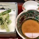 御料理山もと - 天ぷら