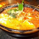 安楽亭 - チゲスープ