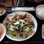 優食キッチン - 料理写真:タケノコステーキ定食