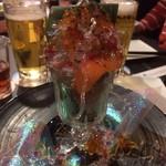 彩り海鮮 KURAGE - 海鮮パフェ