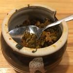 彩色ラーメンきんせい - 辛子高菜