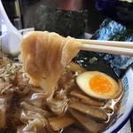 トクちゃんらーめん - 料理写真:手打ちワンタン麺980円