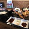 らくだ屋 - 料理写真:串海老フライ+串カツ5種盛り定食